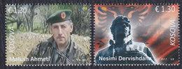Kosovo 2017 Freedom Fighter, MNH (**) Michel 376-377 - Kosovo