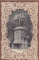 Brussel, Bruxelles, Carte Relief, Gaufrée, Motif Dentelle, Statue Des Ctes D'Egmont Et De Hornes (pk56533) - Avenues, Boulevards