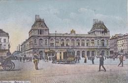 Brussel, Bruxelles, Gare Du Nord, Paardentram (pk56540) - Chemins De Fer, Gares
