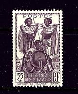 Somali Coast 159 MH 1938 Issue - Mali (1959-...)