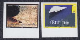Kosovo 2008 Europa CEPT - The Letter, Imperforated, MNH (**) Michel 102-103 - Kosovo