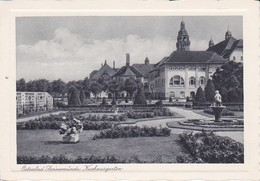 AK Ostseebad Swinemünde - Kurhausgarten (39993) - Pommern