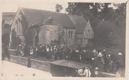 To Identify Real Photo Véritable - (?) Kingsey Falls Danville Area - Church Crowd Église - Written - 2 Scans - Postcards