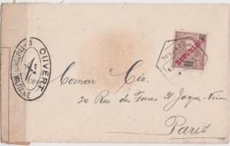 Lettre Mozambique, Ouvert Par L'autorité Militaire 7 (Controle Postal), Cachet Lourenço Marques Central 1916 - Mozambique