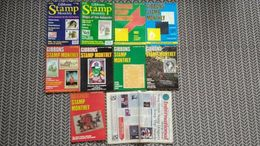 GIBBONS STAMP MONTHLY 1978/1980/1981/1997 VARIOUS ISSUES + 1 STAMP NEWS - Magazines