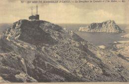 13-LE SEMAPHORE DE CROISETTE ET L ILE MAIRE-N°1072-G/0363 - France