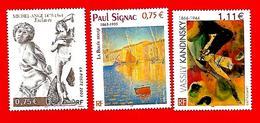 3551 --  FRANCE - 2003 - N°  3558+3584+3585**  Neufs - Sammlungen