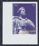 Kosovo 2008 Adem Jashari, Imperforated, MNH (**) Michel 118 - Kosovo