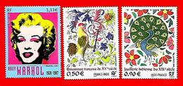 3553 --  FRANCE - 2003 - N°  3628/30**  Neufs - Sammlungen