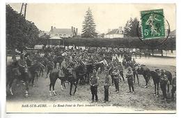 BAR SUR AUBE - Le Rond Point De Paris Pendant L'occupation Militaire - Bar-sur-Aube
