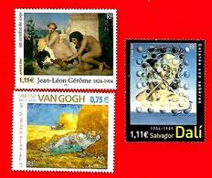 3554 --  FRANCE - 2004 - N°  3660+3670+3690**  Neufs - Sammlungen