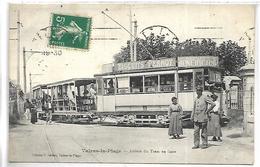 VALRAS LA PLAGE - Arrivée Du Tram En Gare - Unclassified
