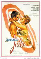 Carte Postale : Adorable Julia (Lili Palmer - Charles Boyer - Jean Sorel) - Illustration Okley (cinéma Film Affiche) - Posters On Cards