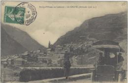 CPA Dept 05 LA GRAVE Tampon Convoyeur Bourg D'Oisans A Vizille Tacot - France