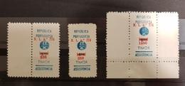 Timor 1968 Postal Tax RA20 RA22 RA24 - AF15-17 - East Timor
