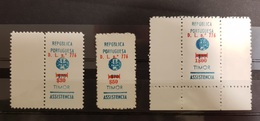 Timor 1968 Postal Tax RA20 RA22 RA24 - AF15-17 - Timor Oriental