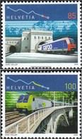 Svizzera 1952-1953 (completa Edizione) Usato 2006 Simplontunnel + Lötschbergbahn - Usados