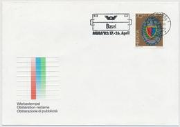 1982 Werbeflagge - BASEL 1 Basel MUBA'82 17.-26. April - Marcophilie