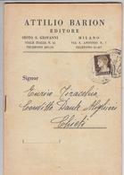 ITALIA 1930 - Libretto Editore BARION - Milano - Temas