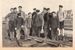 SNCF NEUFCHATEL EN BRAY Brigade De La Voie  1951 - Old Paper