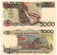 Indonesia - 5000 Rupiah 1997 ( 1992 ) UNC Lemberg-Zp - Indonésie