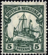 German-Guinea 21I Peace Print Unmounted Mint / Never Hinged 1914 Ship Imperial Yacht Hohenzollern - Colony: German New Guinea