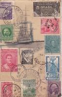 FRAGATA SARMIENTO. REPUBLICA ARGENTINA. YEAR 1933. ESTAMPILLAS Y SELLOS VARIOS PAISES. RARISIME - BLEUP, - Argentina
