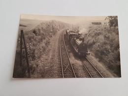 40248 - Environs D'  Houffalize  -  Carte  Photo  Train  -  Mention Au Dos Et Au Crayon - Autres