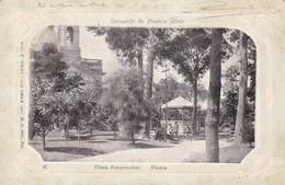RECUERDO DE BUENOS AIRES. PLAZA PUEIRREDON. IMP WEISS. SIGNEECIRCULEE A GENERAL ACHA  YEAR 1900. RARISIME - BLEUP, - Argentine