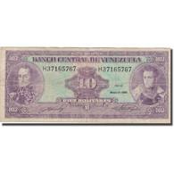 Billet, Venezuela, 10 Bolívares, 1990, 1990-05-31, KM:61b, TB - Venezuela
