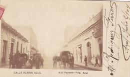 CALLE ALSINA AZUL. D,DI FERRANTE. FOTG. SIGNEE CIRCULEE A BUENOS AIRES  YEAR 1904. RARISIME - BLEUP, - Argentine