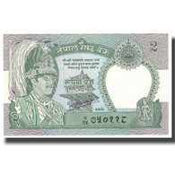 Billet, Népal, 2 Rupees, KM:29b, SPL - Nepal
