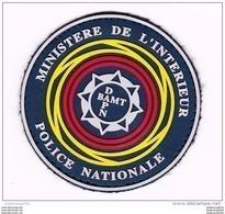 Ecusson-insigne Police Nationale Plastifié -- MI -- Neuf - Ecussons Tissu