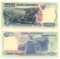 Indonesia - 1000 Rupiah 1994 ( 1992 ) AUNC Lemberg-Zp - Indonésie