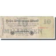 Billet, Allemagne, 10 Millionen Mark, 1923, 1923-09-01, KM:96, TB - [ 3] 1918-1933: Weimarrepubliek