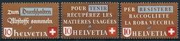254-256 / 405-407 Serie Postfrisch/** - Unused Stamps