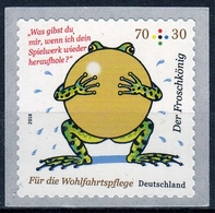 Bund MiNr. 3364 ** Wohlfahrt: Grimms Märchen - Der Froschkönig - BRD