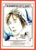 Carte Postale : Nashville Lady (cinema Affiche Film) Illustration Raymond Moretti - Illustrators & Photographers