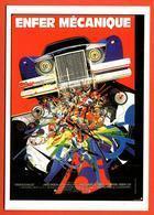 Carte Postale : Enfer Mécanique (cinema Affiche Film) Illustration Raymond Moretti - Illustrators & Photographers
