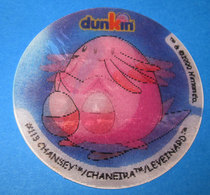 DUNKIN CHANSEY 2000 3D - Pokémon