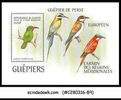 GUINEA - BLUE-CHEEKED BEE-EATER BIRD - MINIATURE SHEET MINT NH - Ohne Zuordnung