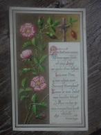 Ancien - Icône Image Pieuse - Première Communion Charolles 1890 K.F.&Z. Paris - Religion & Esotérisme
