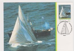 Australia 1983 America's Cup Thriumph Australia II Boat Maximum Card - Maximum Cards