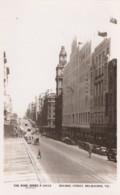 Melbourne Australia, Burke Street Scene, Autos, C1920s Vintage Rose Series P.10532 Real Photo Postcard - Melbourne