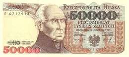 POLAND 50000 ZŁOTYCH 1993 (1994) P-159a UNC  [PL849a] - Poland
