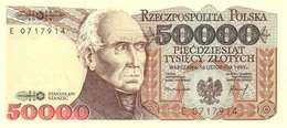 POLAND 50000 ZŁOTYCH 1993 (1994) P-159a UNC  [PL849a] - Polen