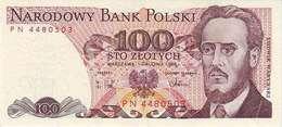 POLAND 100 ZŁOTYCH 1988 (1989) P-143e UNC  [PL835f] - Polen
