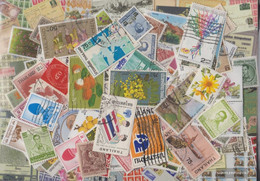 Thailand Stamps-100 Different Stamps - Thailand