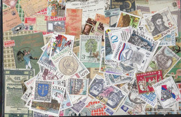 Slovakia Ab 1993 Stamps-100 Different Stamps - Slovakia