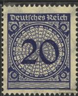 German Empire 341HT Anchor In Basket Lid Fine Used / Cancelled 1923 Rentenpfennig - Deutschland
